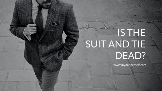 Is the suit and tie dead?