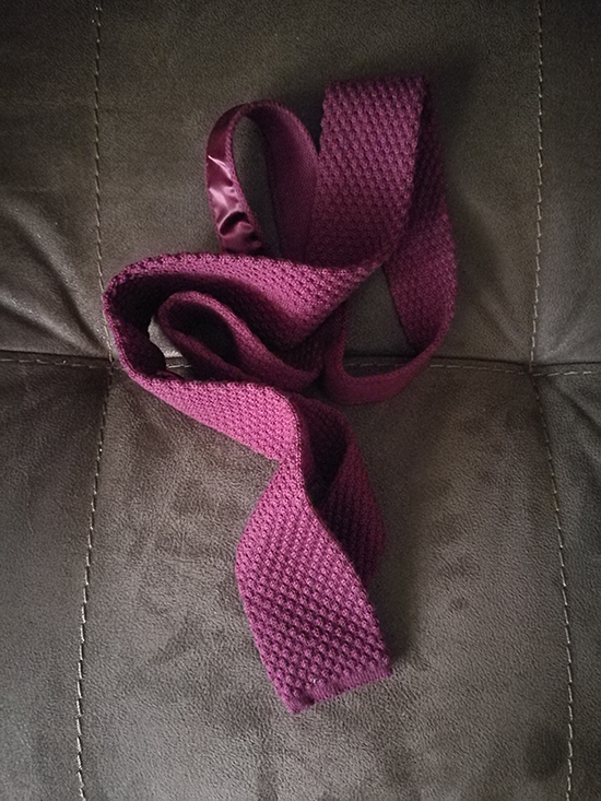 must have ties - knit tie