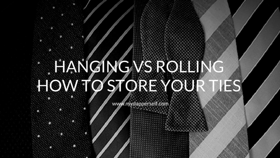 How to store your ties?