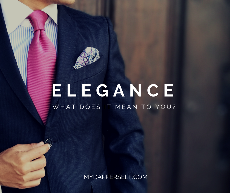 What does elegance mean?